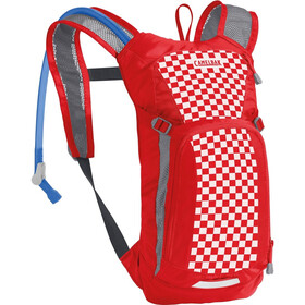 CamelBak Mini M.U.L.E. Hydration Pack 1,5L Kids racing red check